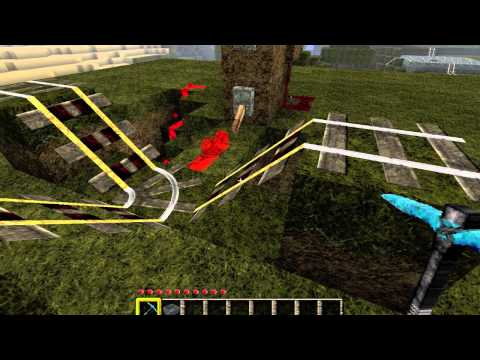 [Minecraft] Powered Rail Systems