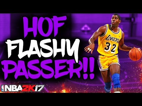 NBA 2K17 HOW TO GET HALL OF FAME😈🔥 FLASHY PASSER!! | GET IT IN ONE GAME!!