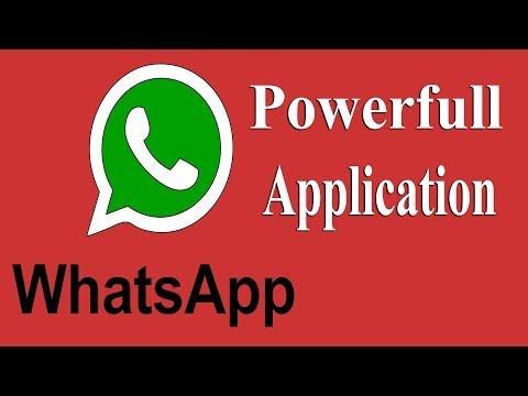 [HINDI] Whats App Powerfull Application Many Futures Available || Whats App ka baap