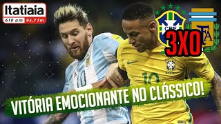 Brasil 3x0 Argentina - Melhores Momentos - Eliminatórias da Copa 2018 (10/11/2016)