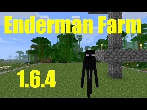 Minecraft 1.6.4 - Hunting Enderman - Ender Pearls in the Over World
