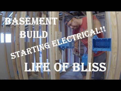 Basement Build 5 | Rough In Electrical