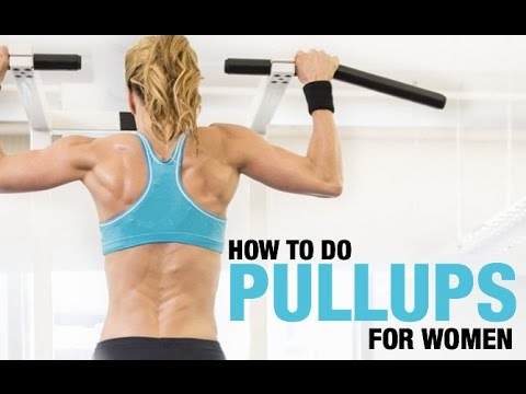 How To Do Pull Ups (COMPLETE TUTORIAL FOR WOMEN!!)
