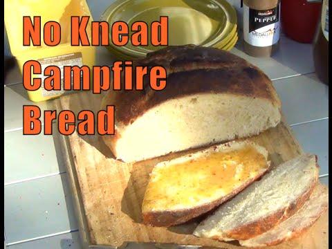 No Knead Campfire Bread Cheekyricho Video Recipe Episode 1,025