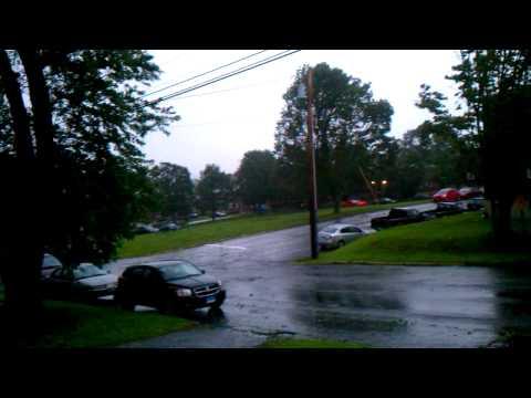 Hurricane Irene in Groton, CT(weak)