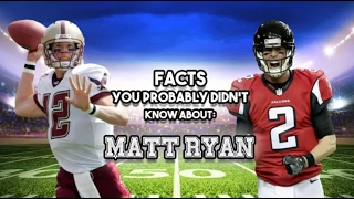 Matt Ryan: 15 AWESOME Facts You Probably Didn't Know
