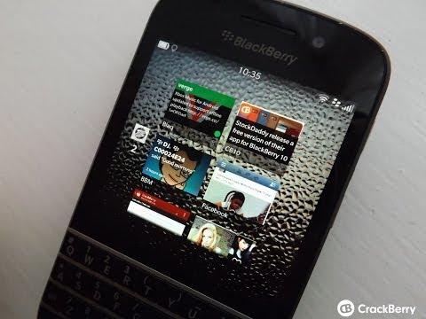 Blaq version 1.3 for BlackBerry 10