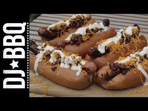 Epic Chilli Cheese Dogs | DJ BBQ