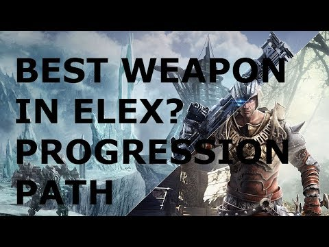 [Elex] Guide - My Favorite Weapon - How To Spend Attribute Points Efficiently - Progression Path