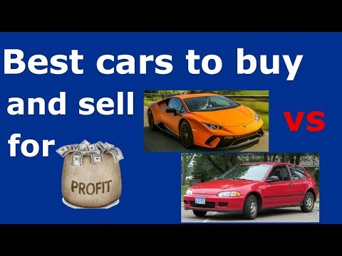 Best Cars to Buy and Sell for Big Profit on Craigslist or Ebay