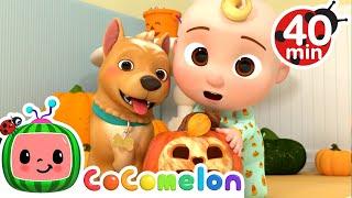 Peek-a-BOO Song Halloween Edition + More Nursery Rhymes \u0026 Kids Songs - CoComelon