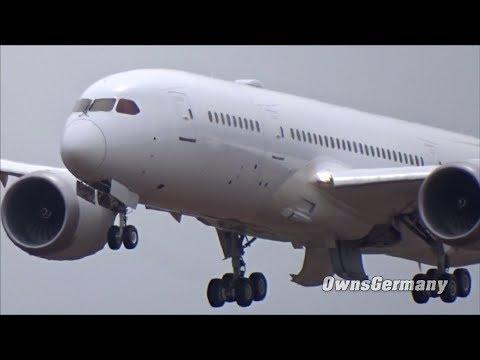 Air Europa Boeing 787 Dreamliner EC-MPE First Flight w/ Missed Approach