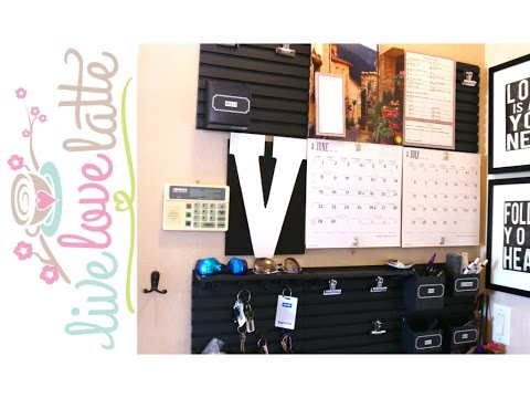 How Our Family Stays Organized with Our Family Command Center - Updated {how to organize}