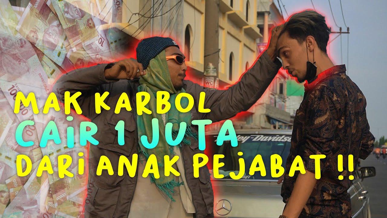 MAK KARBOL DITABRAK DI FLY OVER JAMIN GINTING!! CAIR 1JUTA!! #karbol #karbolgilak