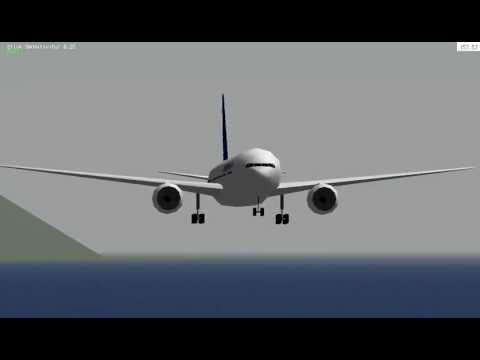 Airbus Garuda Indonesia landing at carrier