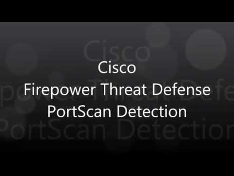 17. Cisco Firepower Threat Defense: PortScan Detection