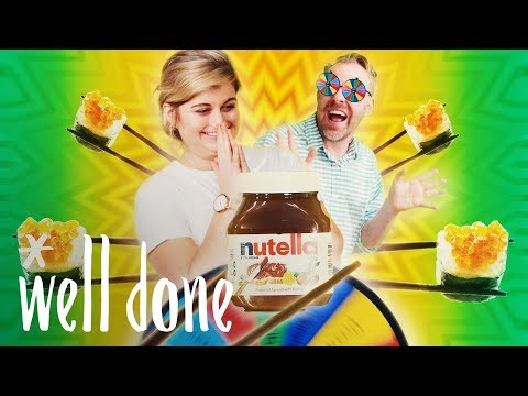 Nutella Sushi Showdown: Which Spin-The-Wheel Combo Will Win? | Homemade Vs. The Internet | Well Done