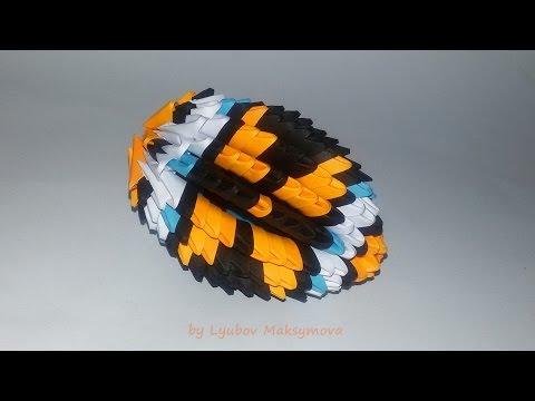 3D ORIGAMI EASTER EGG TUTORIAL