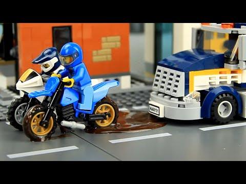 Bike Races & Car Wash Video for Kids