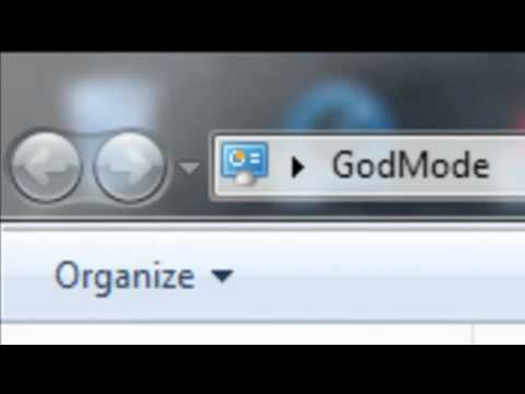 windows 7 mods- how to activate God Mode!