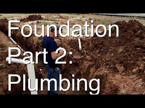 Foundation Part 2: Plumbing under Foundation
