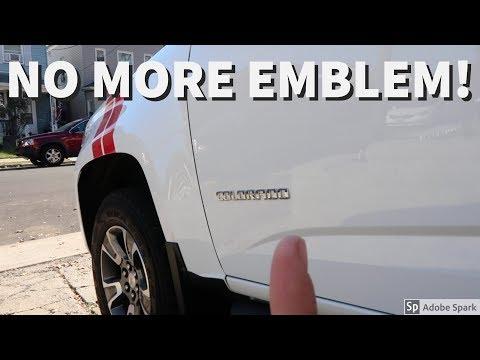 No More Colorado Emblem! Clean Look!!