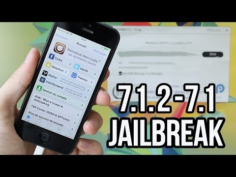 PanGu : iOS 7.1.2 , 7.1.1 et 7.1 Jailbreak Untethered iPhone 5s, 5c, 5, 4S, 4, iPad, iPod touch 5G