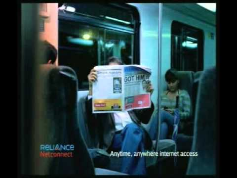 Connect Internet on the go with Reliance Netconnect!