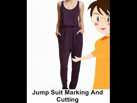 Jump Suit Marking And Cutting -Tailoring With Usha