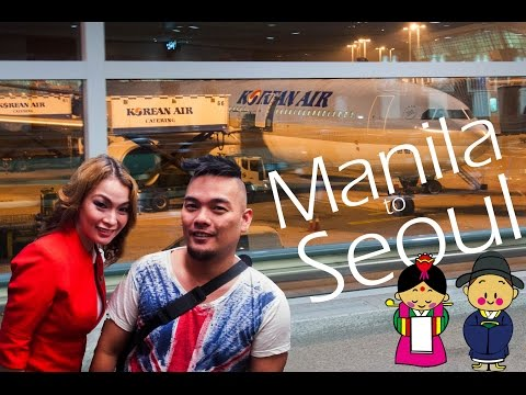 Pinoy Travel: Backpacking in Seoul - Manila Airport, Incheon Airport, Train to Seoul, Seoul Hostel
