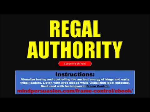 Regal Authority - Radiate The Unconscious Energy of Ancient Kings - Subliminal Affirmations