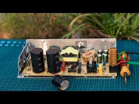How To Repair 12V Powersupply