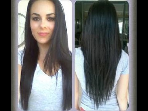How To: Cut Your Hair At Home! (V-Shape, Long Layers)