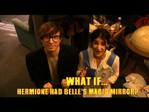 What if Hermione had Belle's Magic Mirror?