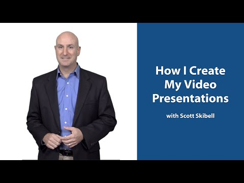 How I Create My Training Videos & Presentations