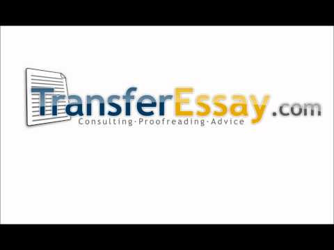 Transfer Essay (English)