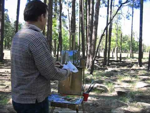 How to Paint the Landscape-Plein Air Painting by Kevin McCain