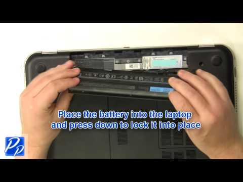 Dell Inspiron 15R (5520 / 7520) Battery Replacement Video Tutorial