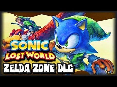 Sonic Lost World Wii U - (1440p) Zelda Zone Free DLC Playthrough