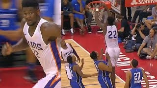 DeAndre Ayton Shows The NBA Why He Was Drafted 1st Overall By The Suns vs Magic! NBA Summer League