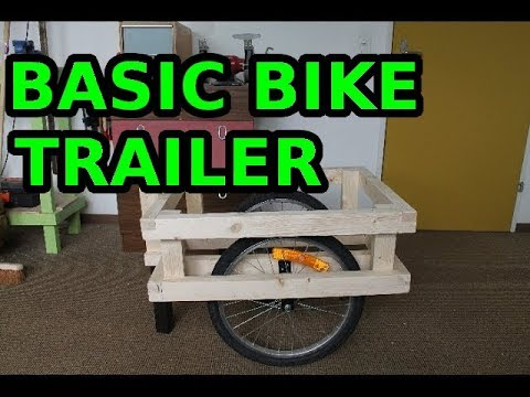 Making a bike trailer - part 1 of 2