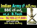 Indian Army SSC Notification 2018 | Indian Army Recruitment 2018 | Latest Government Jobs