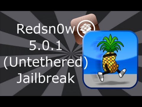 Redsn0w Jailbreak iOS 5.0.1 (Untethered) For iPhone 4S, 4, 3GS, iPod Touch 3, 4, iPad 2 & 1