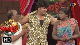 Bullet Bhaskar Sunami Sudhakar Performance | Jabardsth | 27th April2017 | ETV Telugu