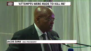 Zuma claims 3 attempts to poison him