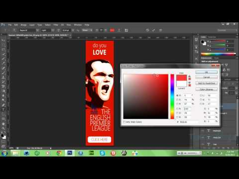 How To Create A Banner Image and Hyperlink A Section [HD]