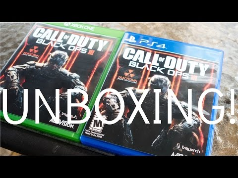 Call Of Duty Black Ops 3 Unboxing (PS4 & XBOX ONE)