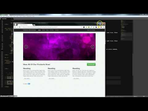 Twitter Bootstrap: Finishing Up