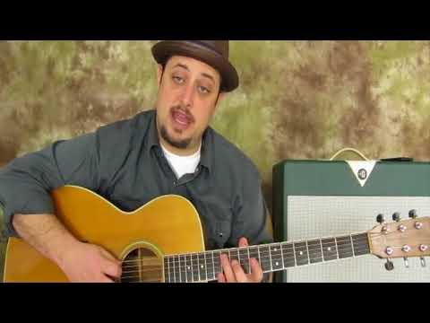 3 Must know Acoustic Blues Chords