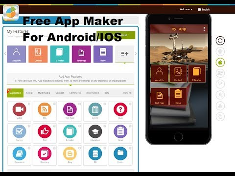 Create an android app online for free without coding & earn online